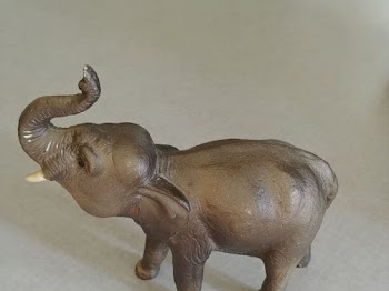 Upcycled Toy Elephant Planter - 7 Days of Thrift Shop Flips