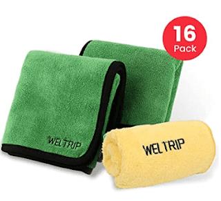 YANTU Multipurpose Plush Microfiber Edgeless Cleaning Towel
