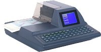 MICR cheque imprinter