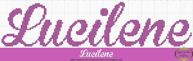 Nome Lucilene em Ponto Cruz