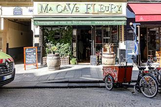 Mes Adresses : Ma Cave Fleury, champagnes en biodynamie et vins nature, les beaux flacons de la Maison Fleury pétillent à Paris