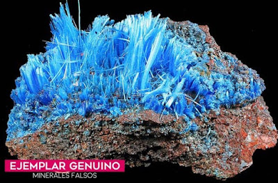 Calcantita genuina - Arizona  | foro de minerales