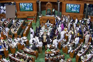 uproar-over-maharashtra-issue-in-both-houses-of-parliament-proceedings-adjourned-for-the-day