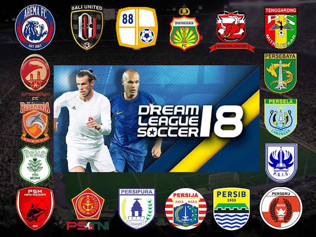 Kumpulan Logo Dream League Soccer : Klub Liga 1 Indonesia 2018