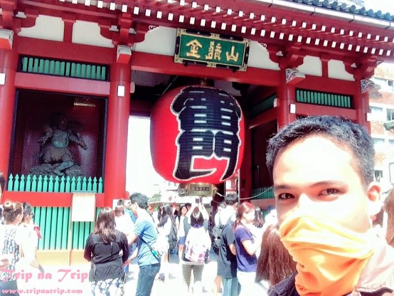 "Asakusa Kannon ""Senso-ji"" Temple - Land of the Rising Sun Ancient Artifact"