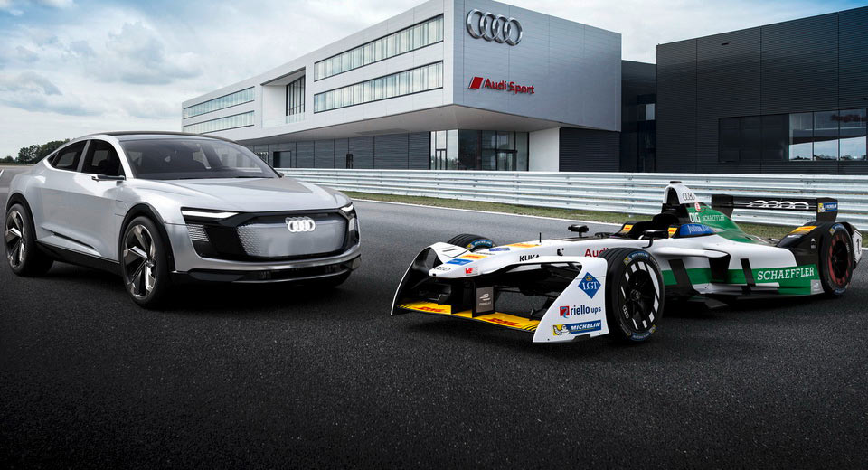 Audi introduces e-tron FE04 as official Formula E challenger