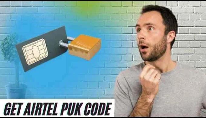 सिम Puk Code इस तरह खोलें - How To Get Airtel Puk Code