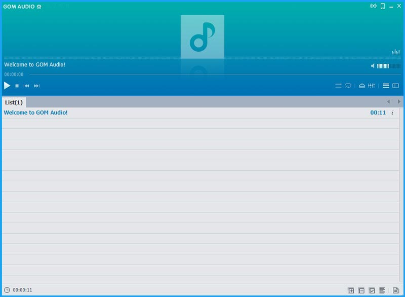 gom audio converter