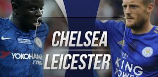 Nonton Online Pertandingan Sepak Bola Seru Leicester vs Chelsea