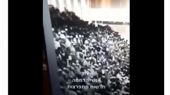 Ngeri! Kursi Sinagoge Runtuh, Ratusan Orang Yahudi Amblas Saat Jalankan Ibadah