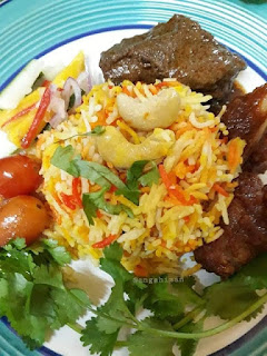 Resepi Nasi Minyak Daging Beriani
