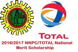 NNPC/TOTAL Undergraduate Scholarship 2017/18 for 100L and 200L stu
