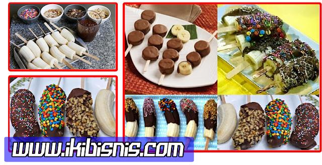 Resep Cara Membuat Es Pisang Coklat