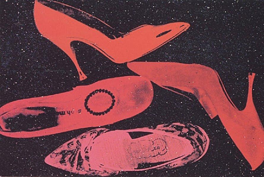 Nada a ver com calçados, mas vale lembrar que Andy Warhol também foi  financiador da banda Velvet Underground e dono do estúdio de arte The  Factory – famoso ... 6da96da84b