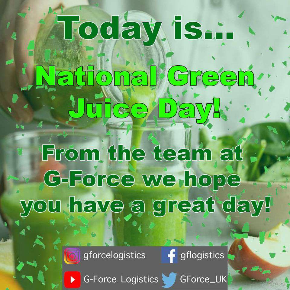 National Green Juice Day Wishes Pics