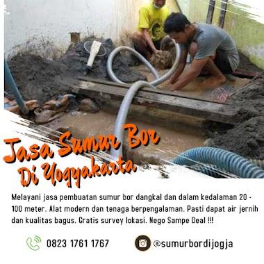 Jasa Sumur Bor di Jogja Sleman Bantul dan Kulonprogo