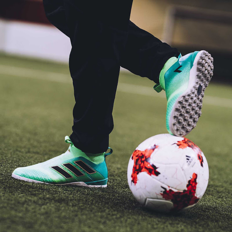 quality design d3521 0a7bd The Turbocharge edition also drops for the indoor and turf-ready Ace Tango  17+ PureControl model, Adidas confirmed today. Part of the Turbocharge  collection ...