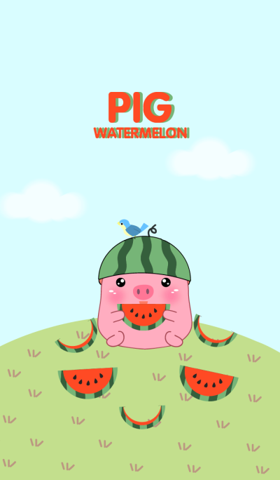 Pig And Watermelon theme(jp)