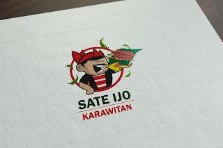 Mascot Sate Ijo Karawitan