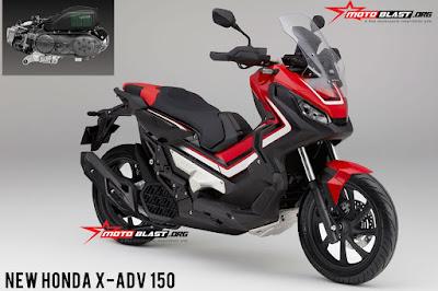 Renderan Project K0WA, Honda X-ADV versi 150cc?