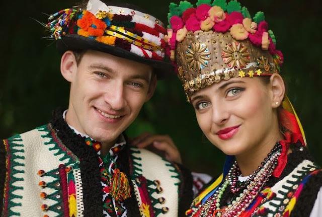 ماهي المجموعات العرقيات الموجودة في اكرانيا