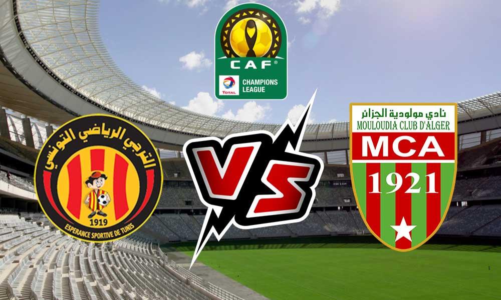 بث مباشر مباراة الترجي ومولودية الجزائر