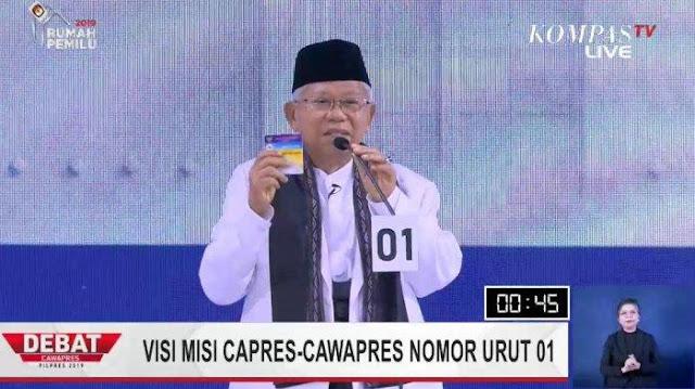 KH Ma'ruf Amin Tunjukkan Kelasnya Bukan Hanya Kyai, Tapi juga Seorang Guru Besar