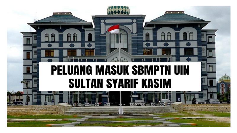 Peluang Masuk SBMPTN UIN-SUSKA 2021/2022 (UIN Sultan Syarif Kasim)