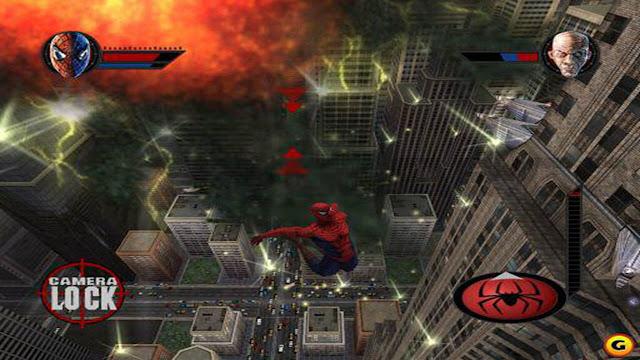 تحميل لعبه سبايدر مان spider man the movie game كامله