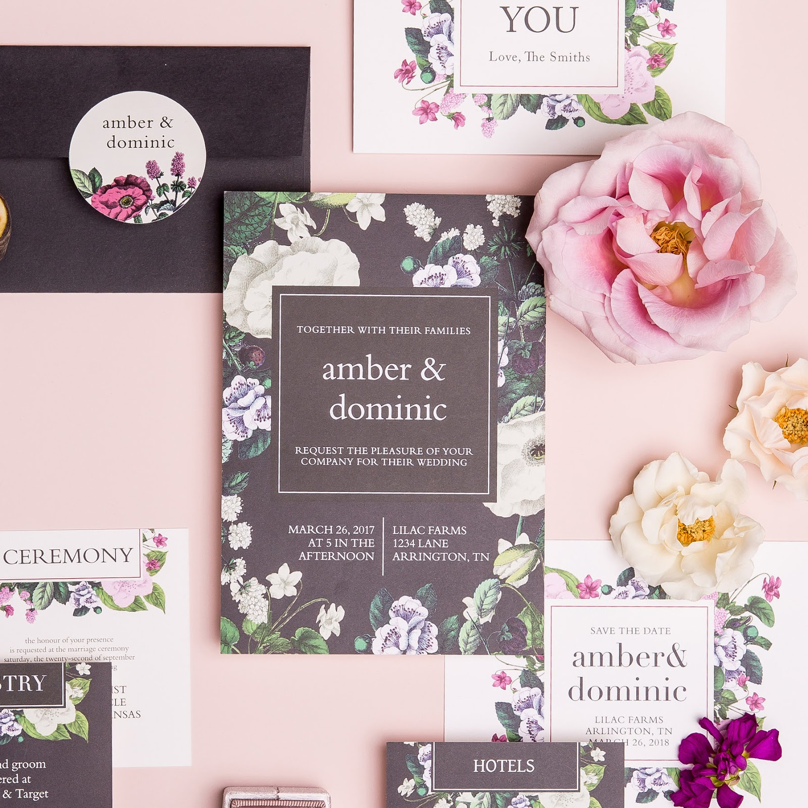 Sophisticated Fun Elegance From Basic Invite Showstopper
