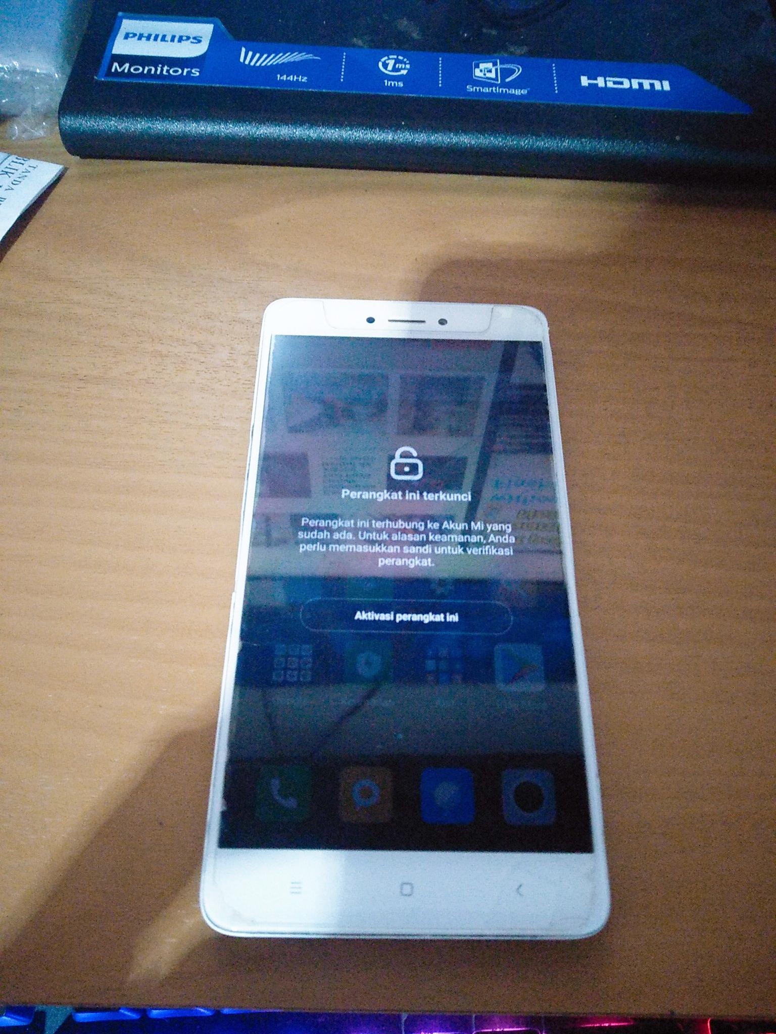 ByPass Mi Account Redmi Note 4X