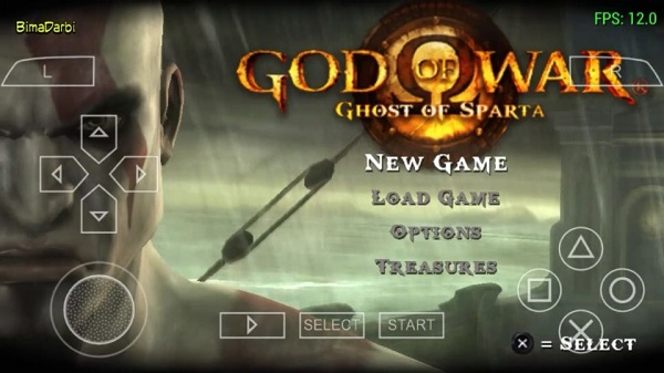 God Of War: Ghost Of Sparta PPSSPP
