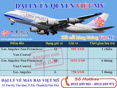 Đại Lý Bán Vé Máy Bay Đi Mỹ Tại Quận Tân Phú