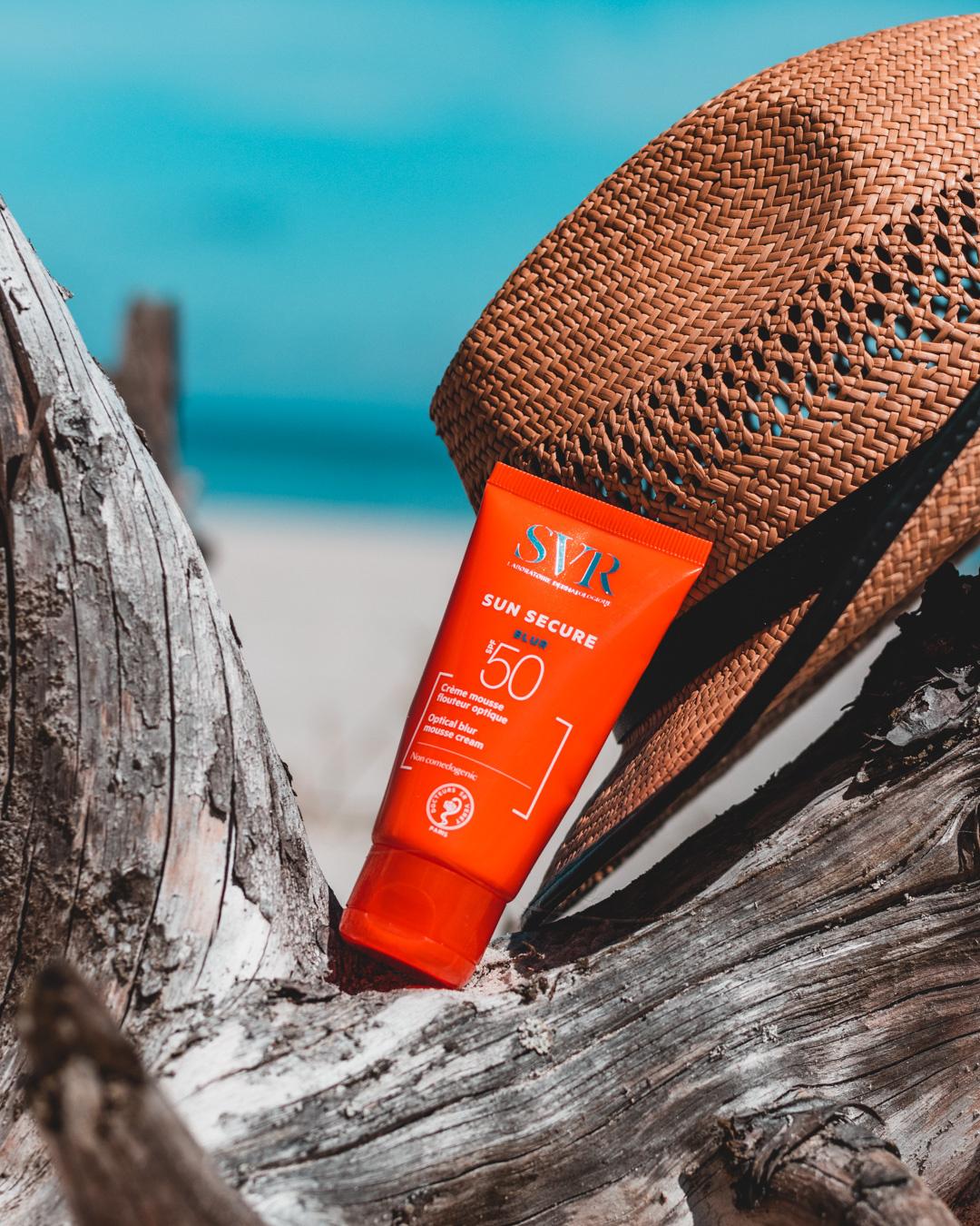 SVR Sun Secure - filtry przeciwsłoneczne do twarzy Creme SPF50+, Fluide SPF50+, Blur SPF50+