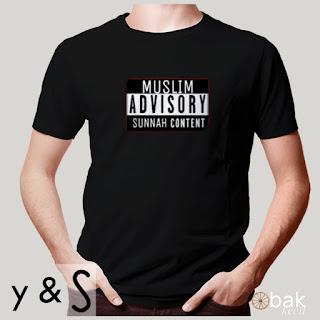 Jual kaos muslim advisort