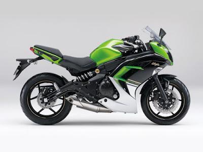 Kawasaki Ninja 400R coll bike