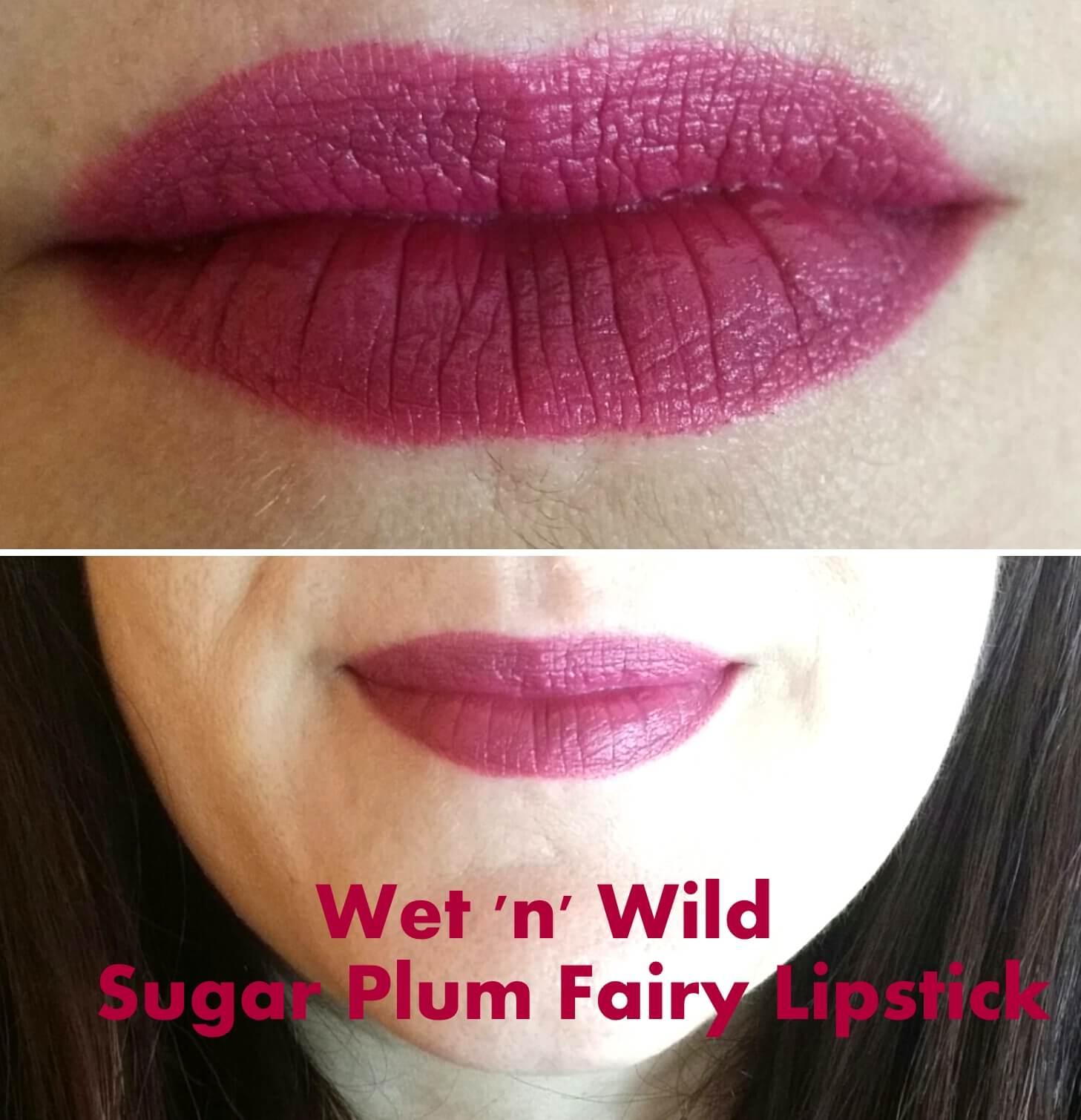 wet n wild megalast lipstick sugar plum fairy the art of