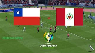 مشاهدة مباراة تشيلي و البيرو بث مباشر 2019-07-04 كوبا أمريكا 2019