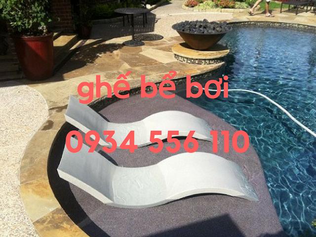 Cung cấp Ghế nằm bể bơi, ghế thư giãn bể bơi, ghế tắm nắng bể bơi giá rẻ ở Hà Nội