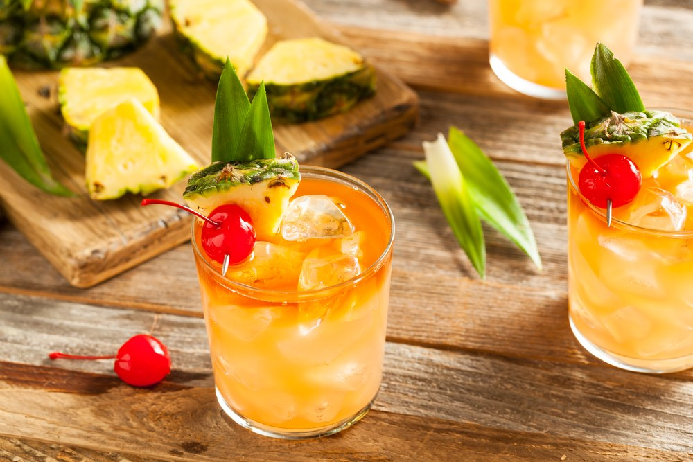 MAI TAI COCKTAIL #drink #delicious