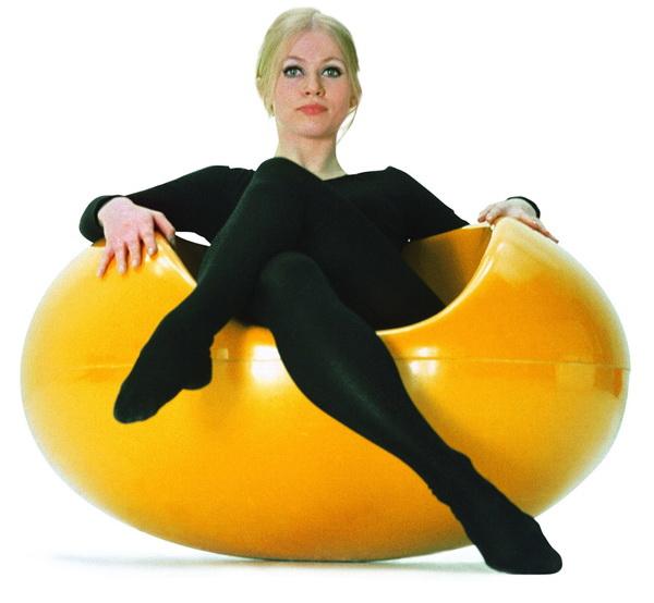 Vernon Panton Chair Egg Amazon Arq&trip: Estética Dos Anos 60