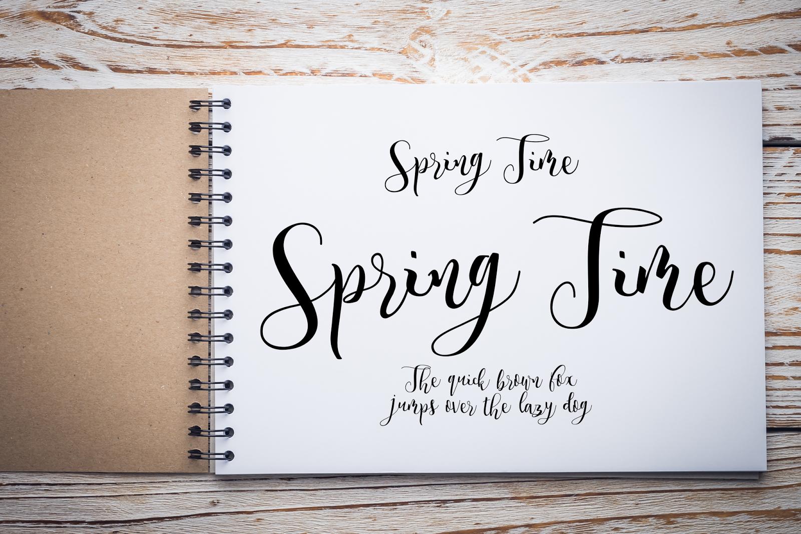 Paperpad blog kreatywny: 15 fontów kaligraficznych