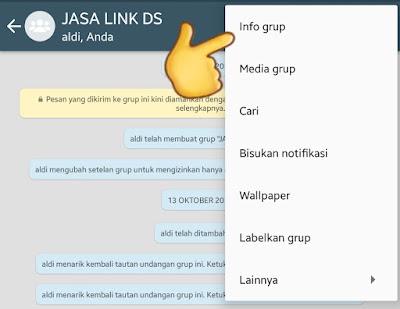 Cara Buat Tautan Link Grup WA, Menghilangkan Tautan dan Membagikan Tautan Grup WhatsApp
