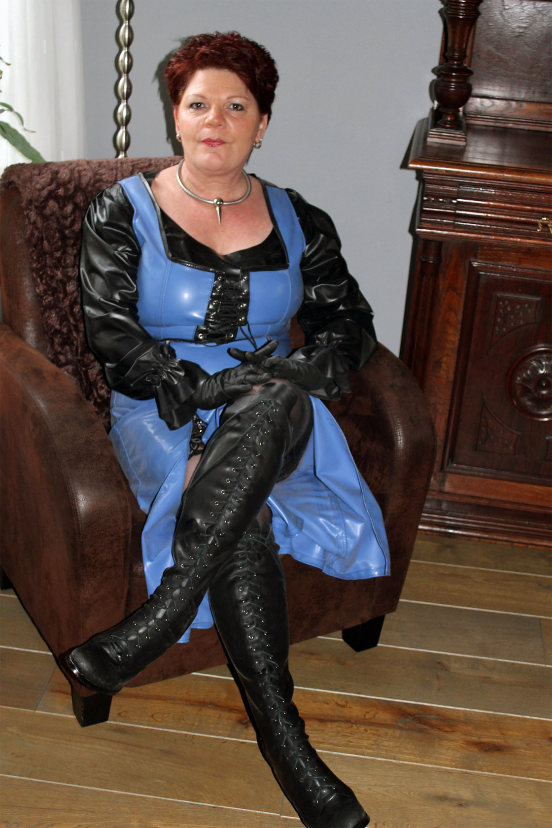 Feels great, older women in boots fetish long
