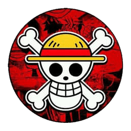 Lencana Logo Dream League Soccer Luffy