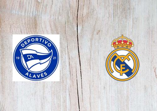 Deportivo Alavés vs Real Madrid -Highlights 23 January 2021