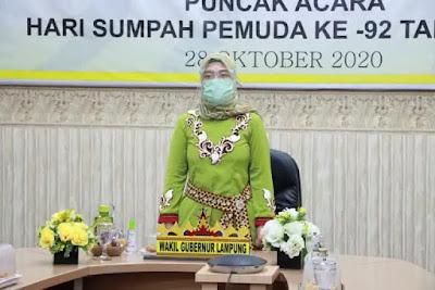 Pemprov Lampung Peringati Hari Sumpah Pemuda ke-92