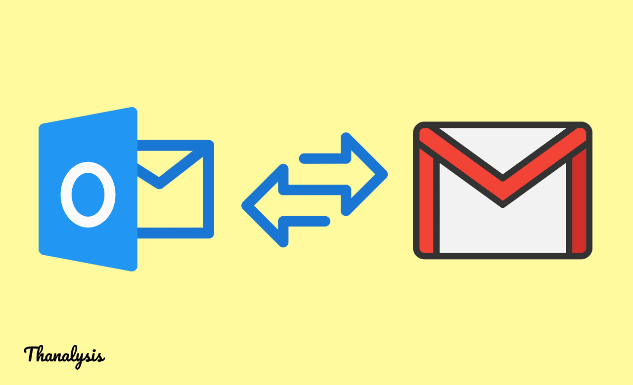 Gmail SMTP details for Outlook server settings