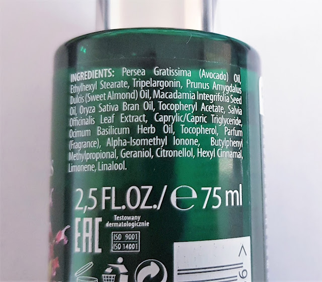 Bielenda botanic spa rituals olejek do ciała ostropest i szałwia lekarska