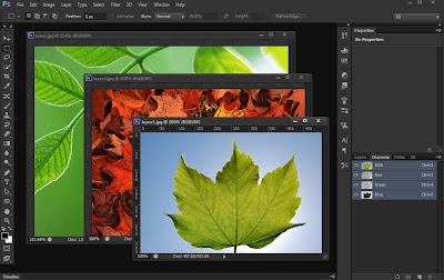 photoshop cs6 : float window screen